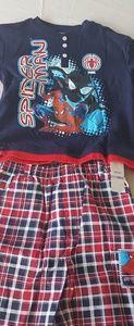 Spiderman tshirt and short set boys size 6